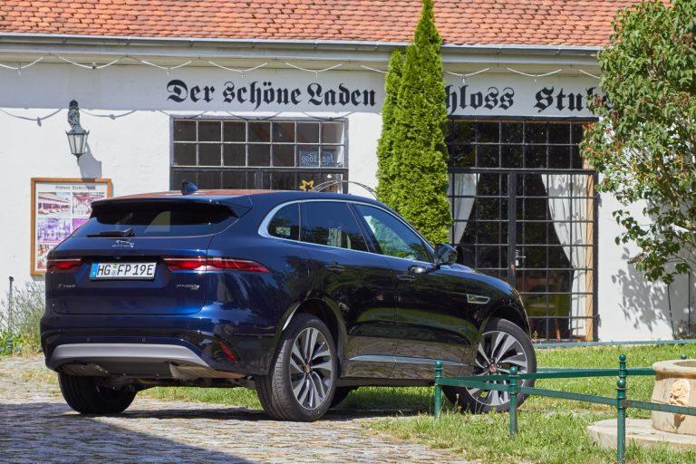 Jaguar F-Pace Heckansicht