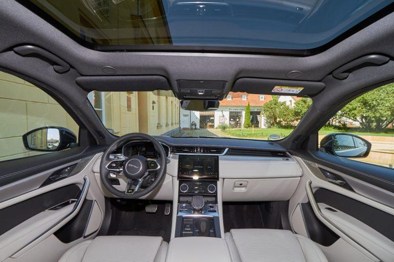 Jaguar F-Pace Innenansicht