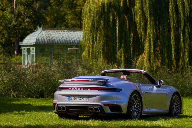 Das Porsche 911 Turbo/Turbo S Cabrio – Heckansicht