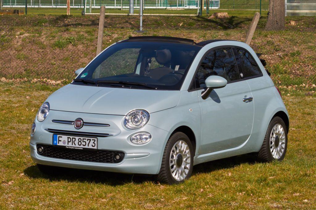 Fiat 500C Cabrio Frontansicht