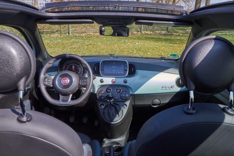 Fiat 500C Cabrio Innenansicht